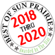 Best of Sun Prairie 2018 Award for West Prairie Dental